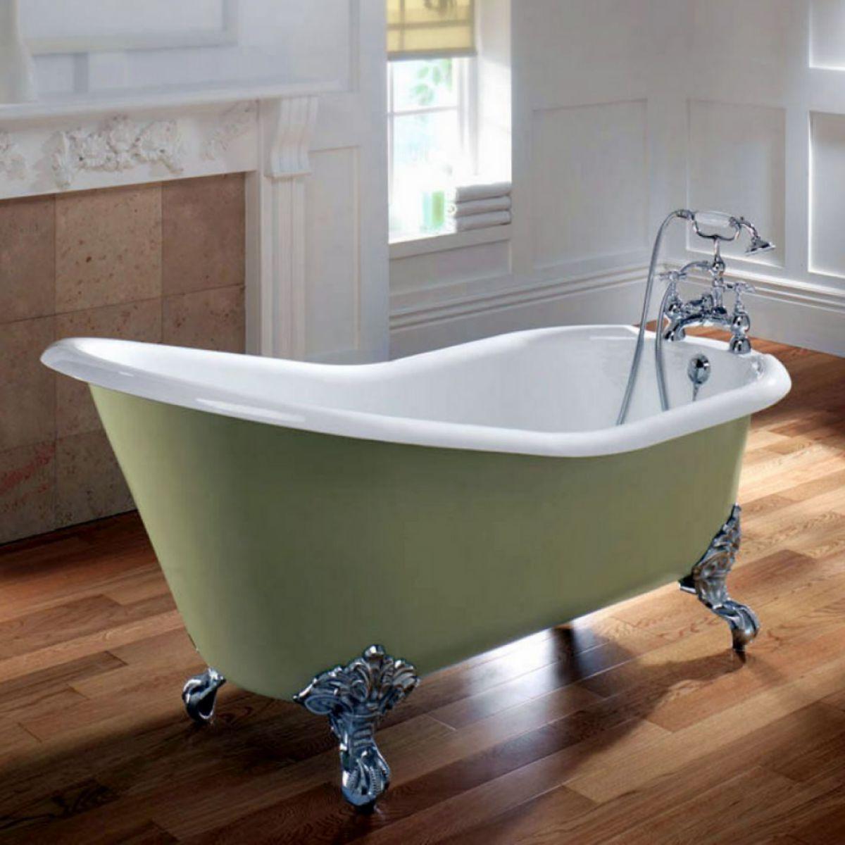 Imperial ritz cast iron slipper bath uk bathrooms for Bath 1200
