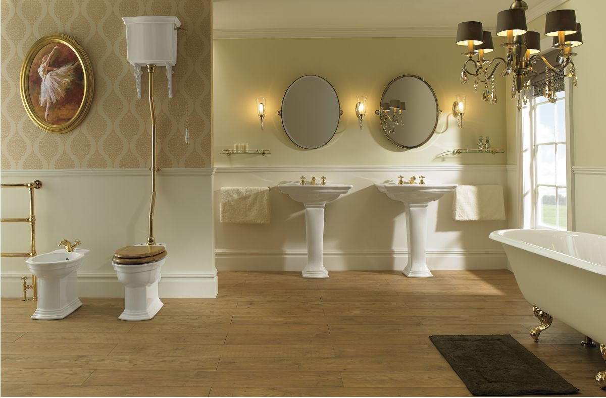 Imperial Traditional Victorian Styled Bathroom Toilets & Ceramicware ...