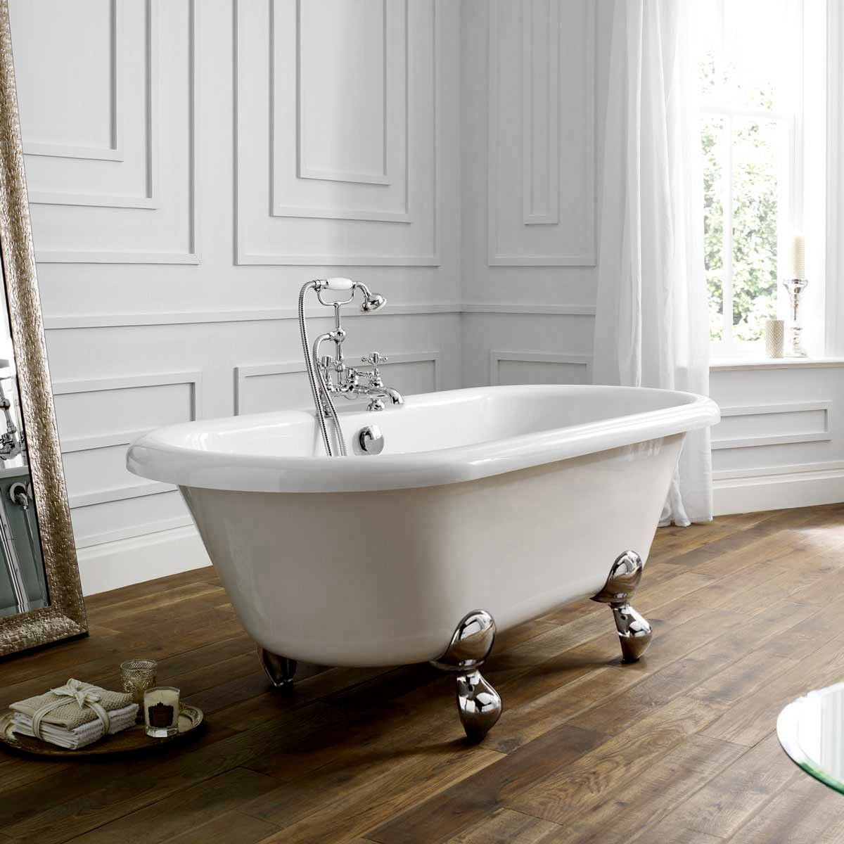 April Skipton Double Ended Victorian Style Bath : UK Bathrooms