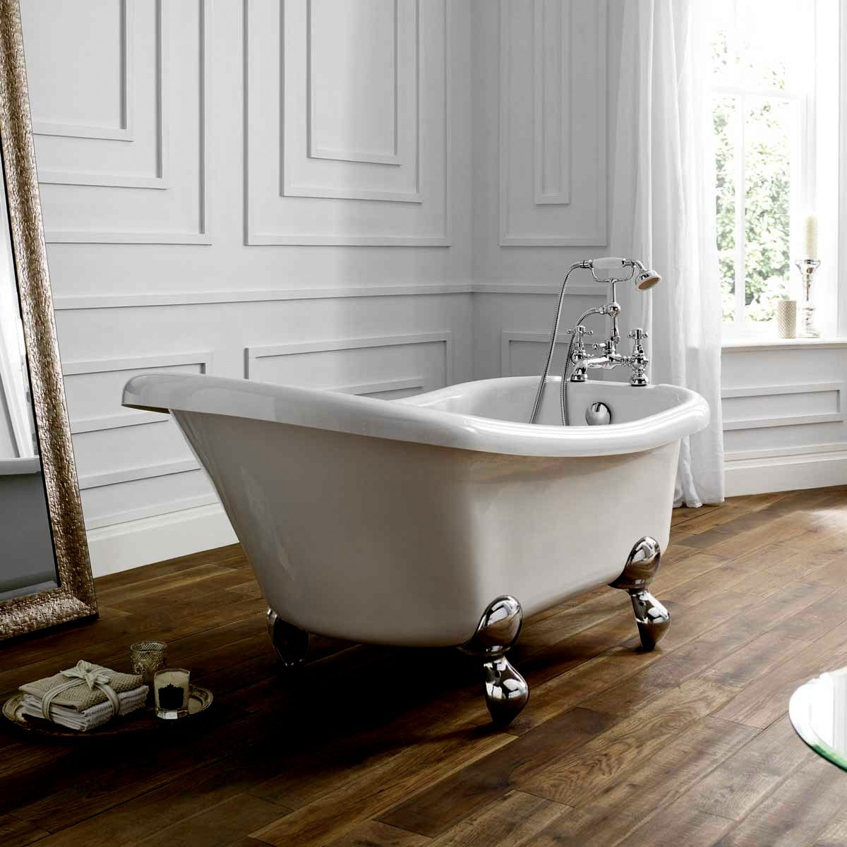 April Eldwick Victorian Freestanding Slipper Bath : UK Bathrooms