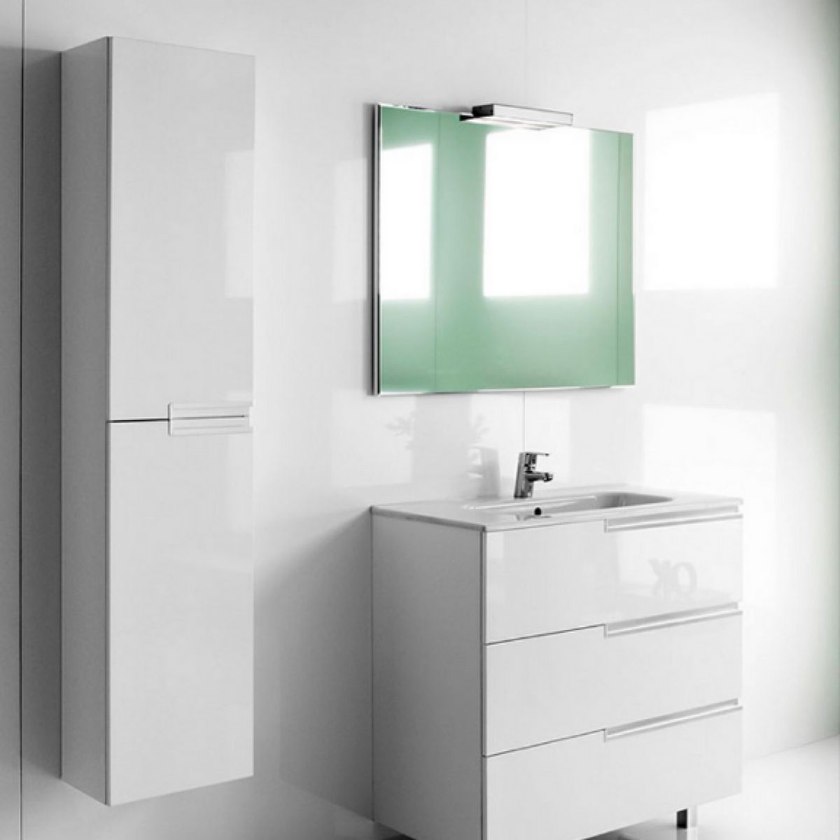 Roca Victoria-N Tall Column Unit : UK Bathrooms