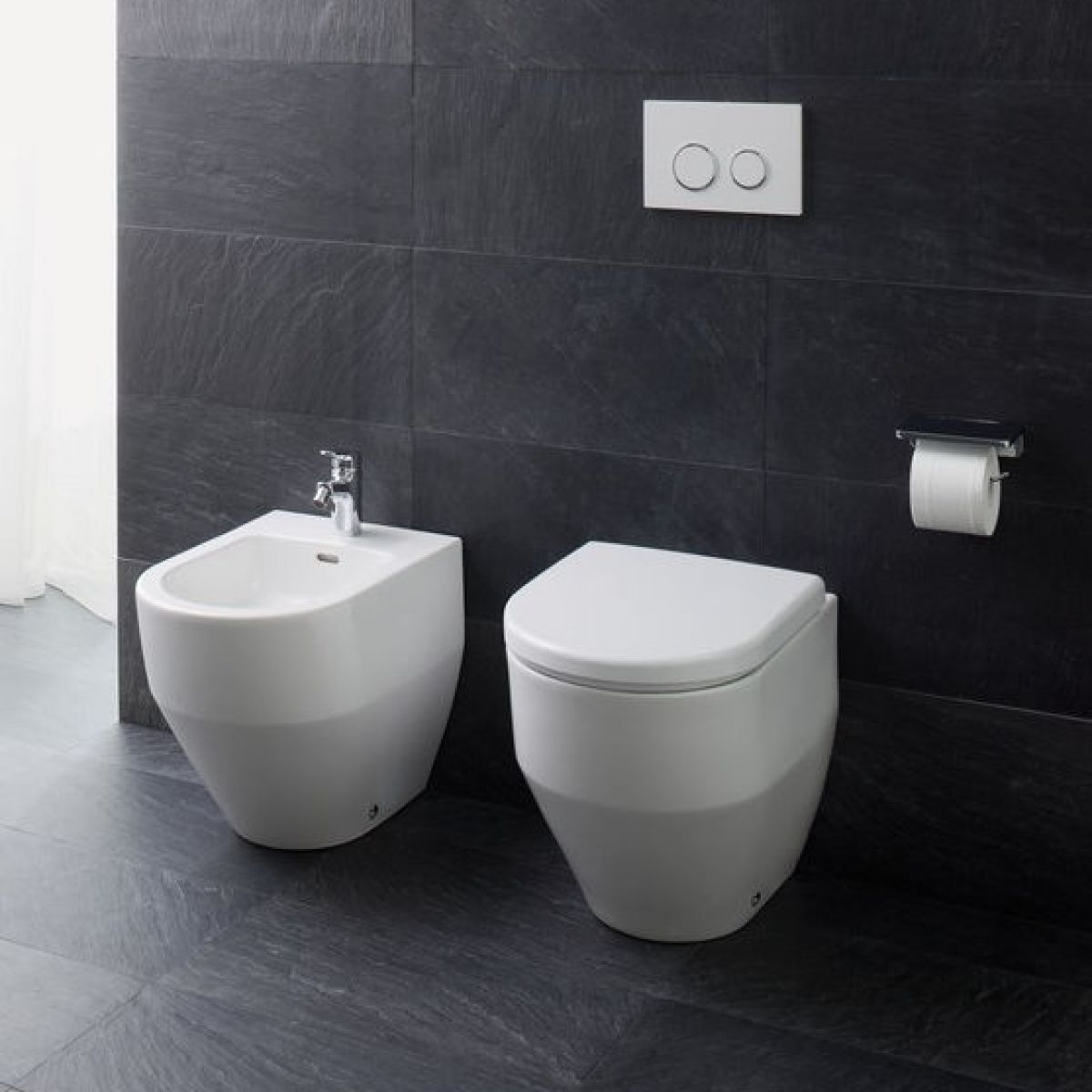 laufen pro new back to wall toilet uk bathrooms. Black Bedroom Furniture Sets. Home Design Ideas