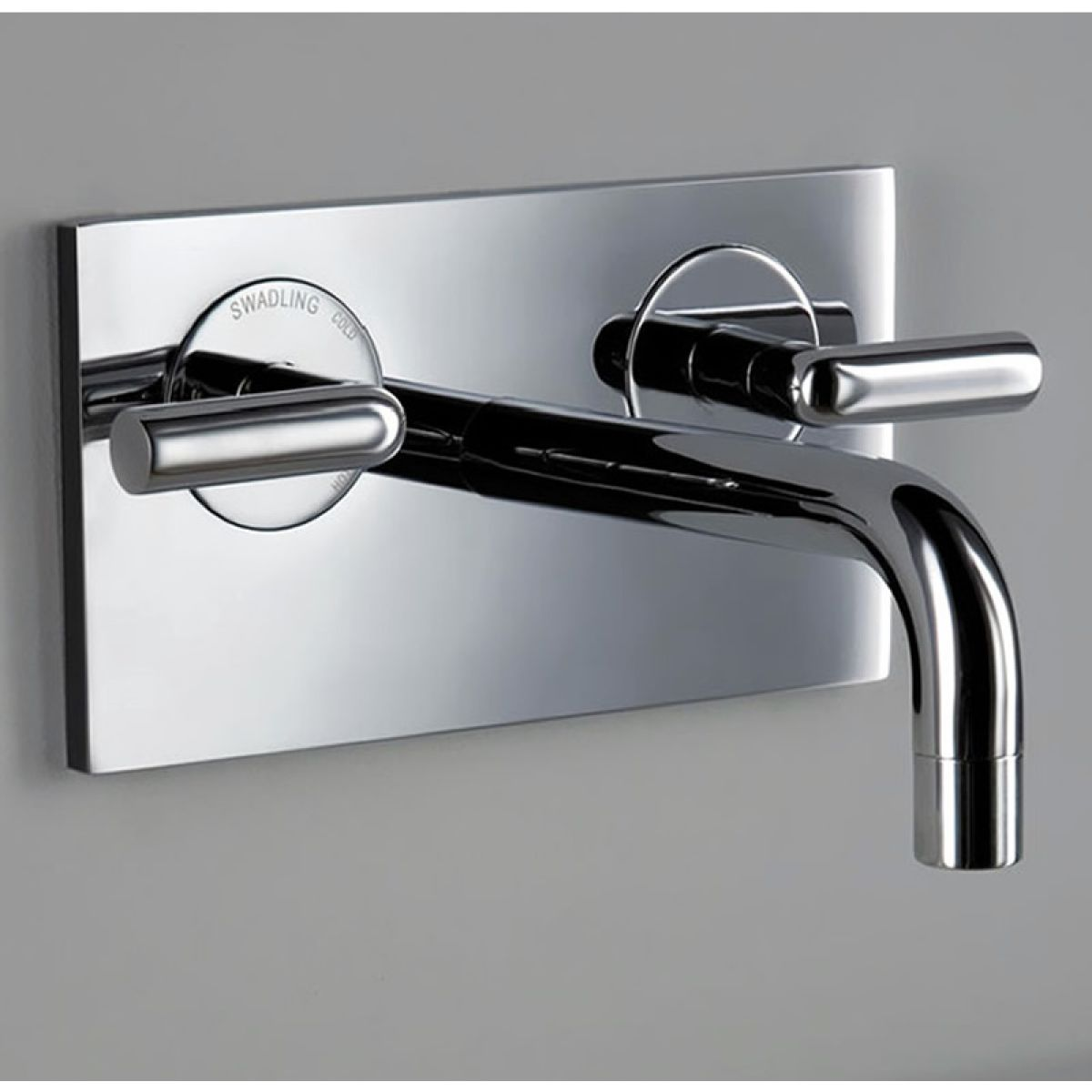 Matki Swadling New Absolute 2 Contemporary Wall Bath Mixer