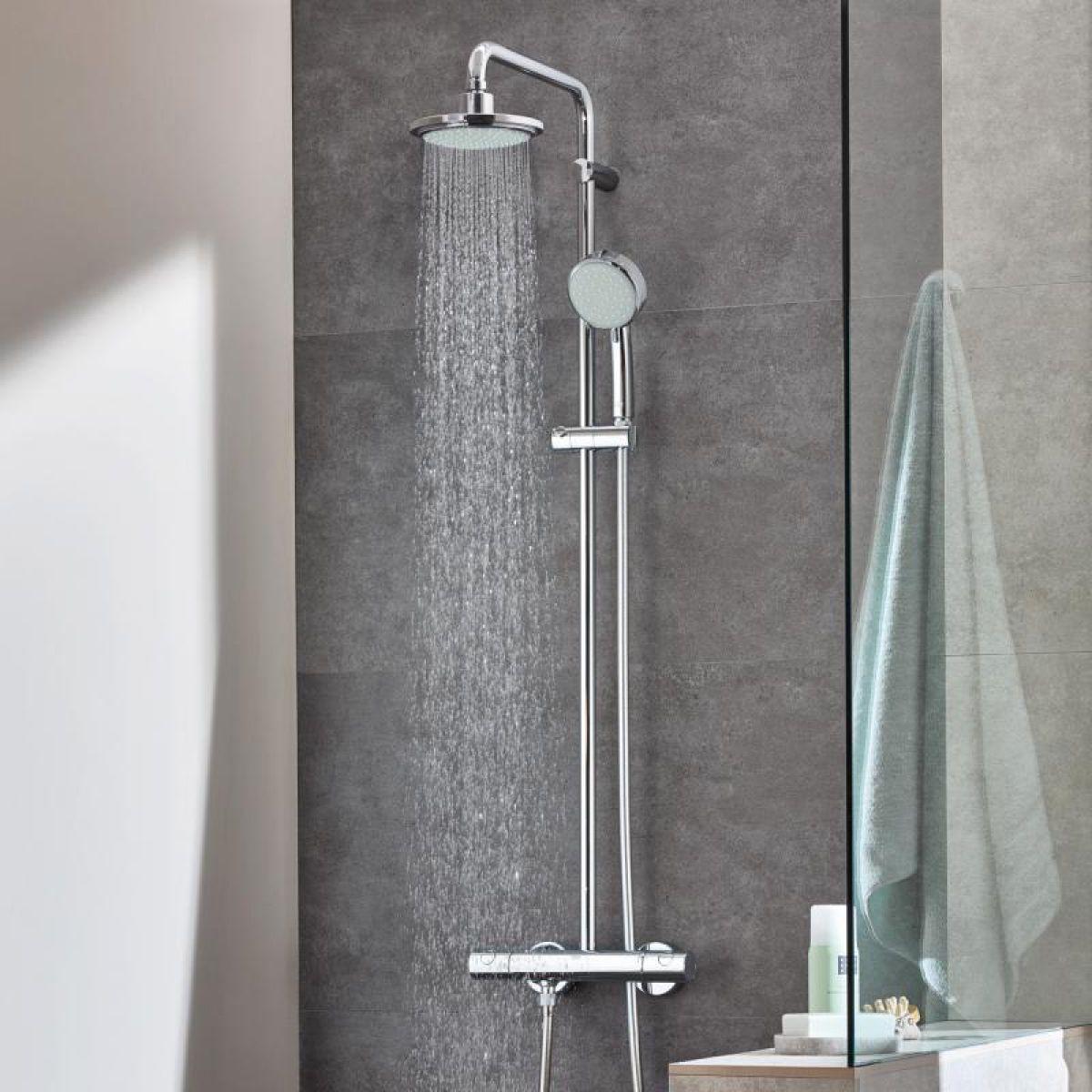Grohe Tempesta Cosmopolitan 160 Shower System Uk Bathrooms