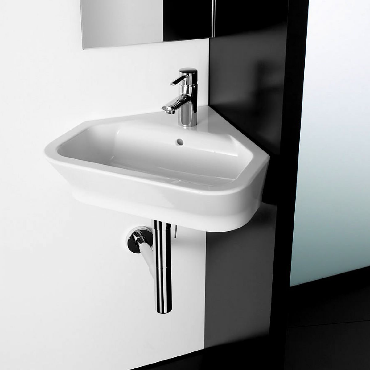image example of a corner basin