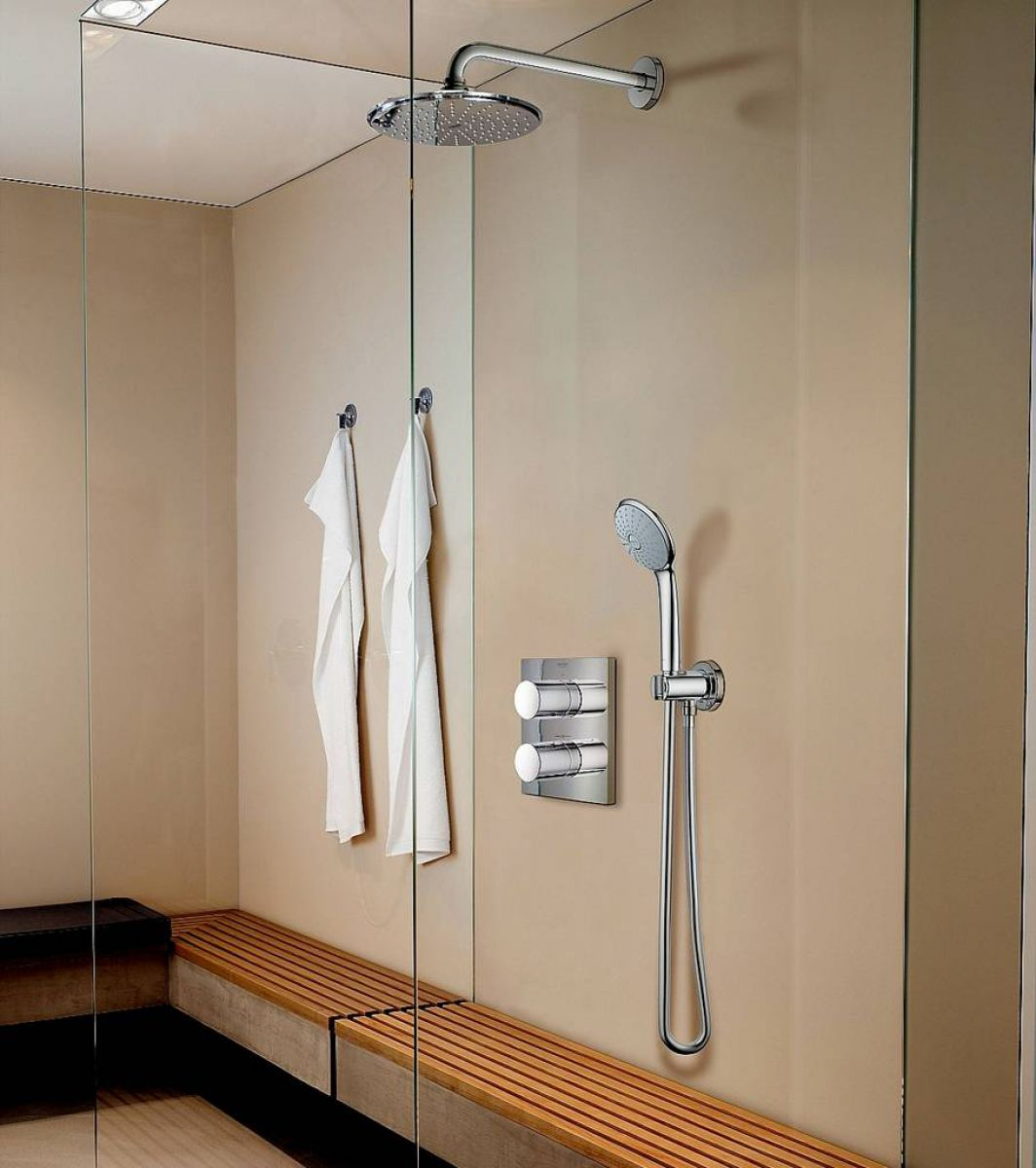 Grohe Grohtherm 3000 Cosmopolitan Perfect Shower Set Uk
