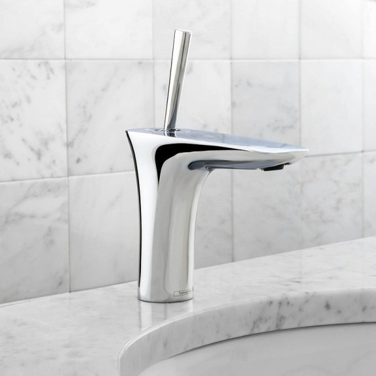 Hansgrohe puravida 100 basin mixer uk bathrooms for Hansgrohe puravida