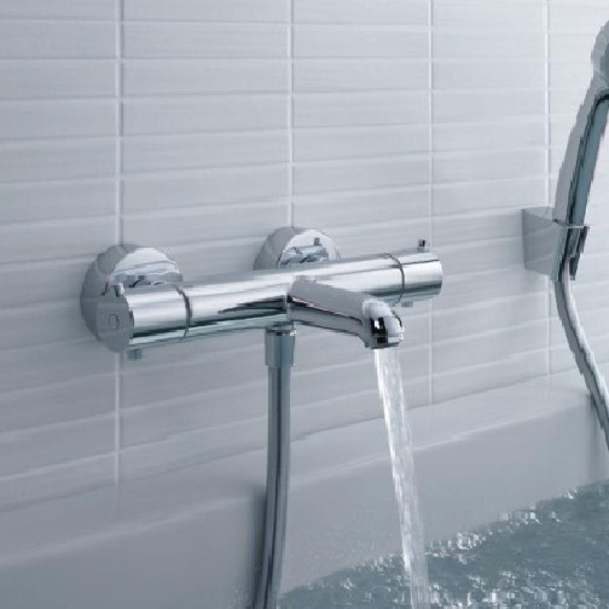 Hansgrohe Ecostat Universal Exposed Bath Shower Mixer Uk