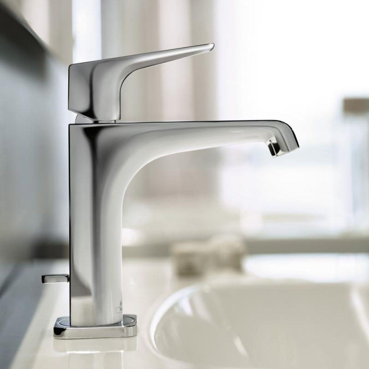 axor citterio e 125 basin mixer tap uk bathrooms. Black Bedroom Furniture Sets. Home Design Ideas