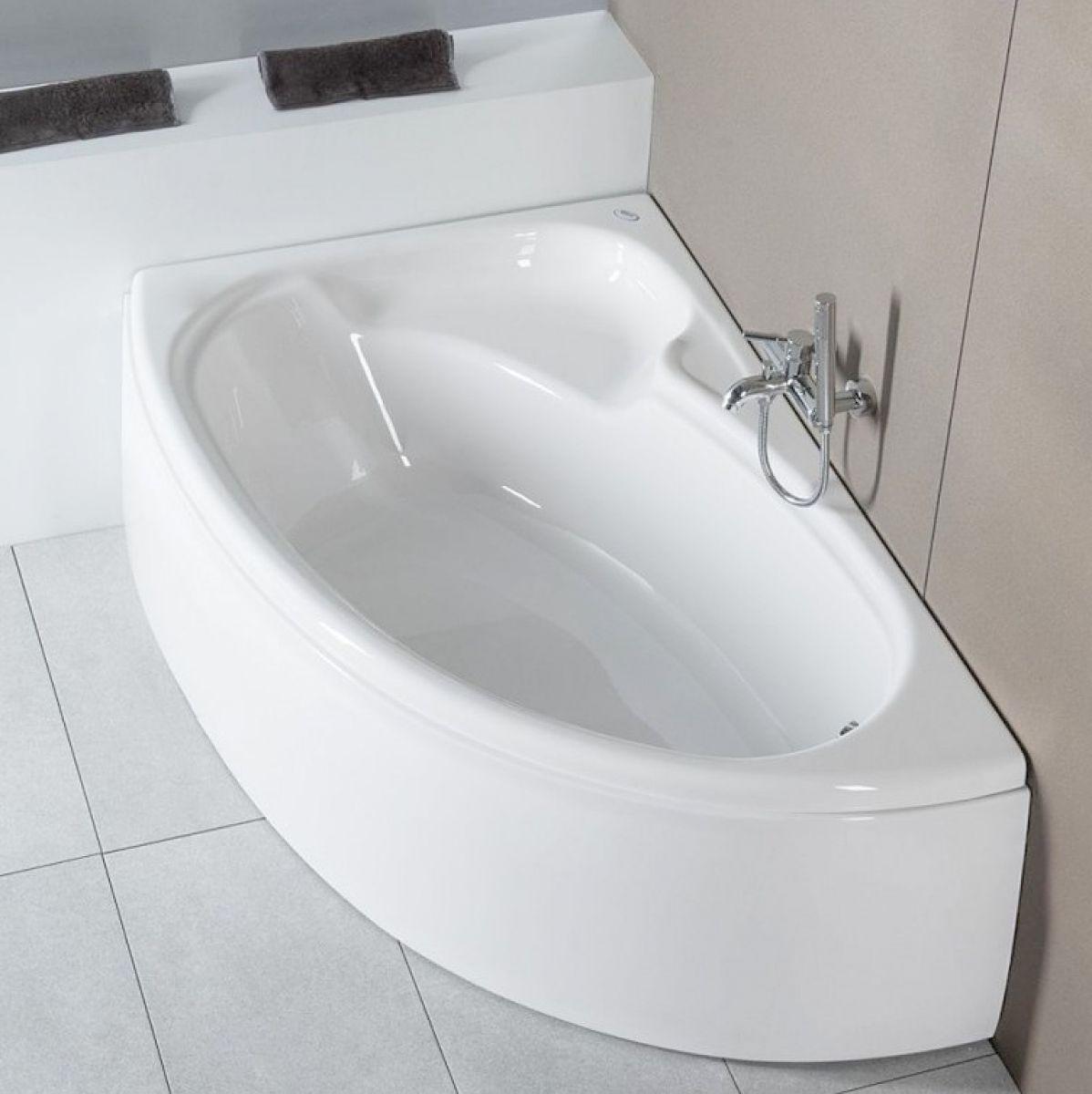 Carron Dove 1550 X 950mm Offset Bath Uk Bathrooms