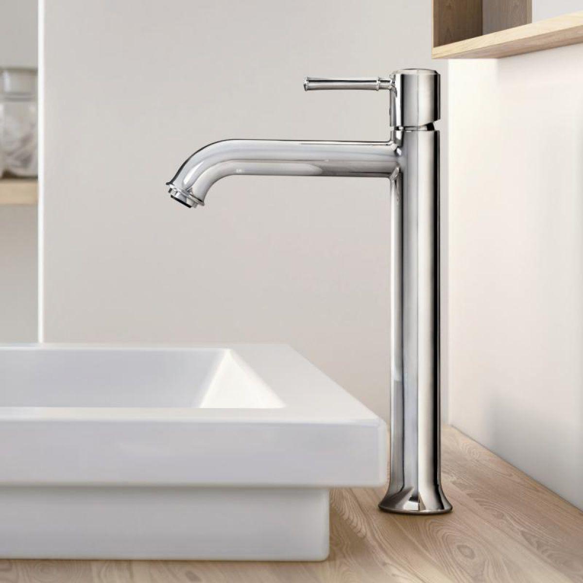 hansgrohe talis classic tall basin mixer set uk bathrooms. Black Bedroom Furniture Sets. Home Design Ideas