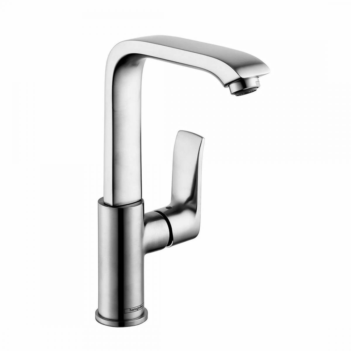 hansgrohe metris 230 side lever basin mixer tap uk bathrooms. Black Bedroom Furniture Sets. Home Design Ideas