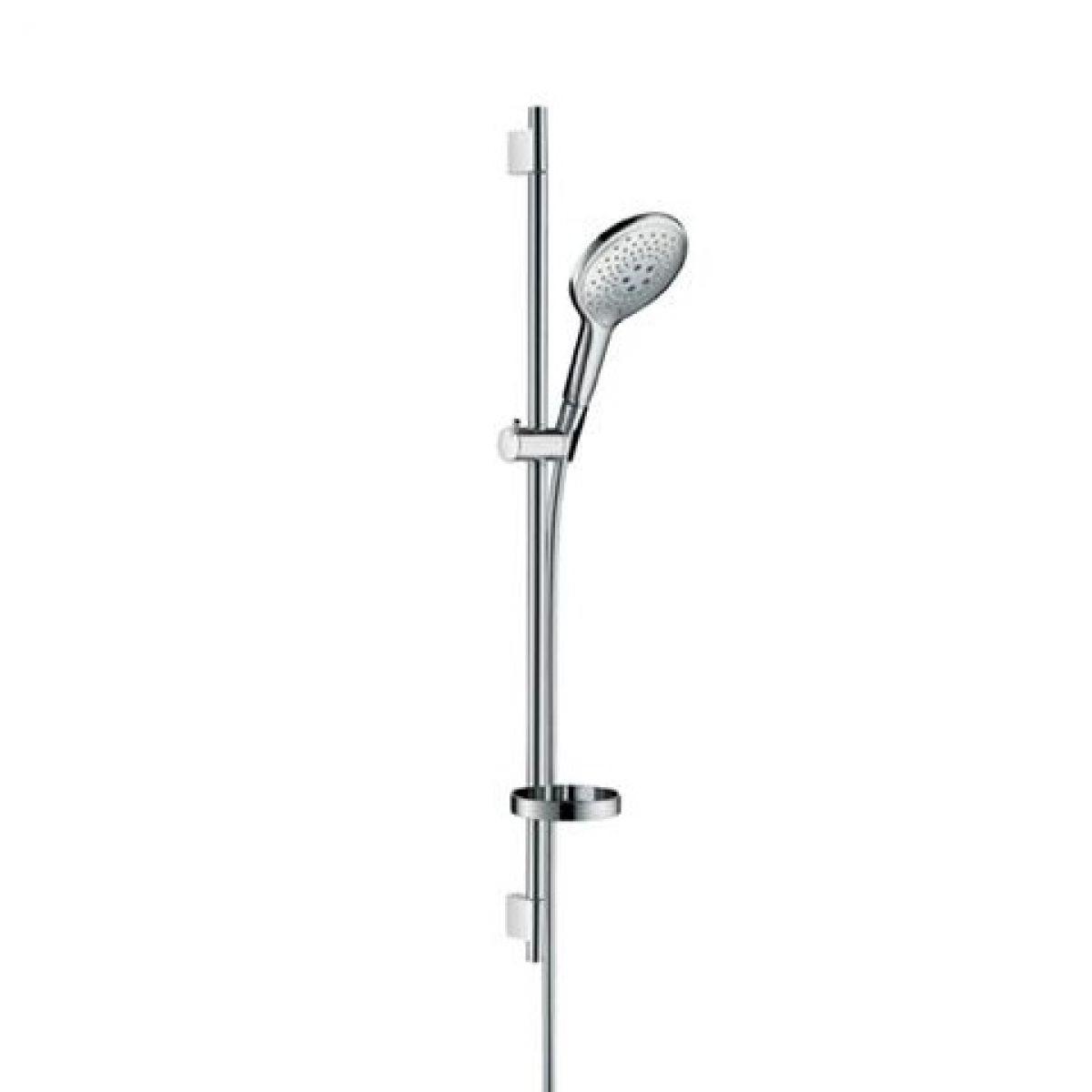 hansgrohe raindance s unica 39 s puro shower set uk bathrooms. Black Bedroom Furniture Sets. Home Design Ideas