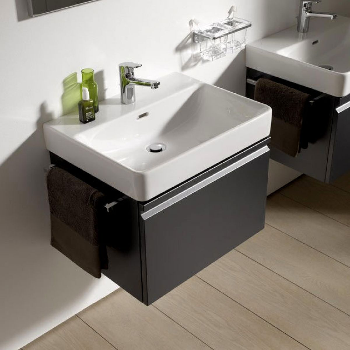 laufen pro s vanity unit with washbasin uk bathrooms. Black Bedroom Furniture Sets. Home Design Ideas
