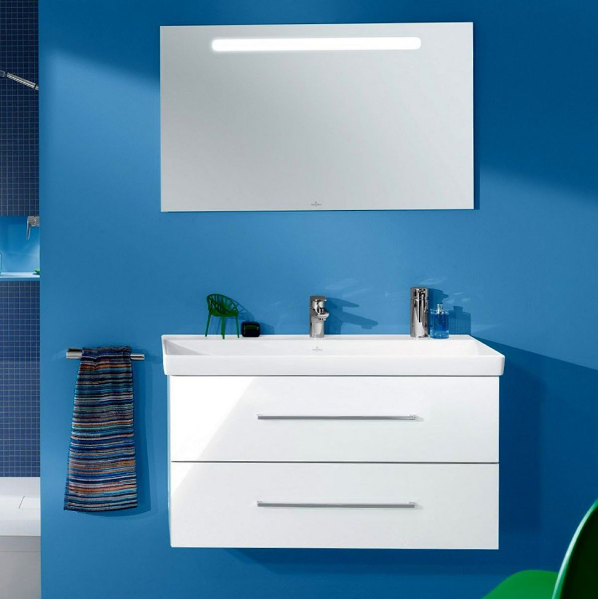 Villeroy & Boch Avento Vanity Unit & Basin : UK Bathrooms