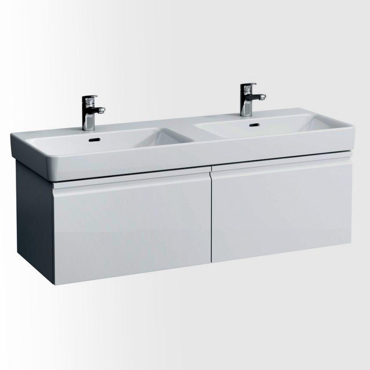 Laufen Pro S Double Basin Vanity Unit With 2 Drawers Uk