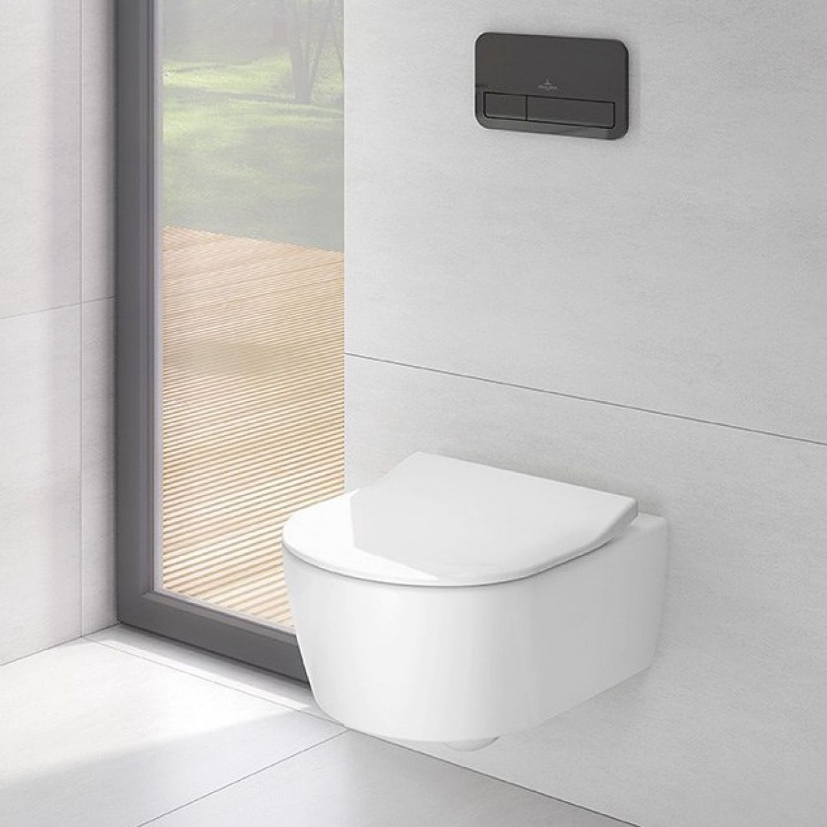 villeroy and boch avento directflush wall hung toilet uk bathrooms. Black Bedroom Furniture Sets. Home Design Ideas