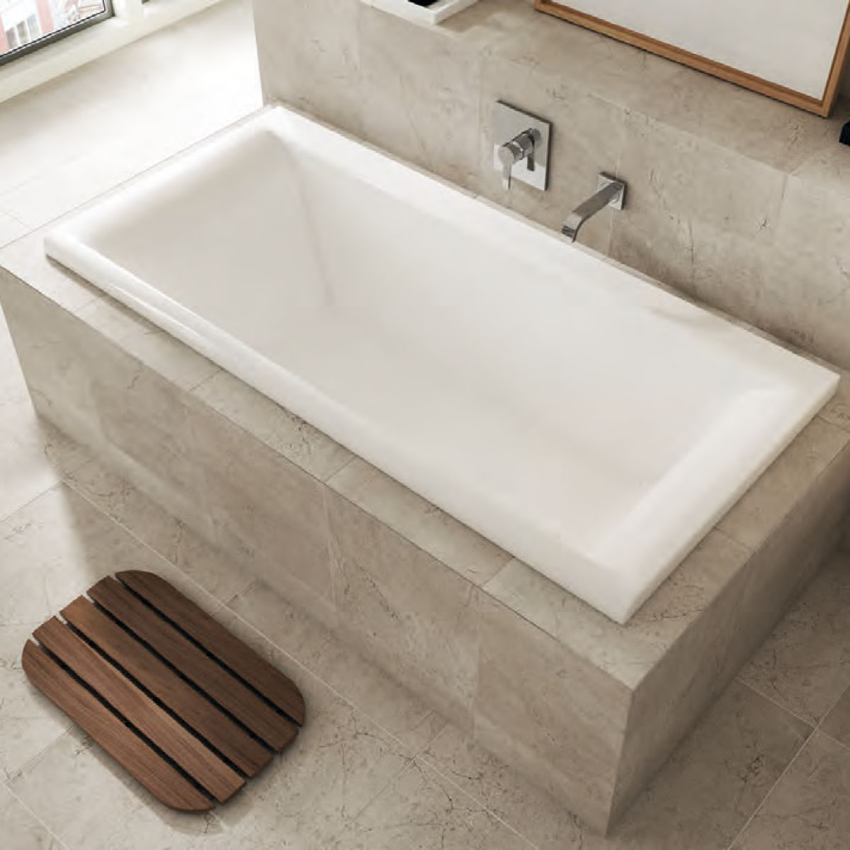 image example of a double ended bath