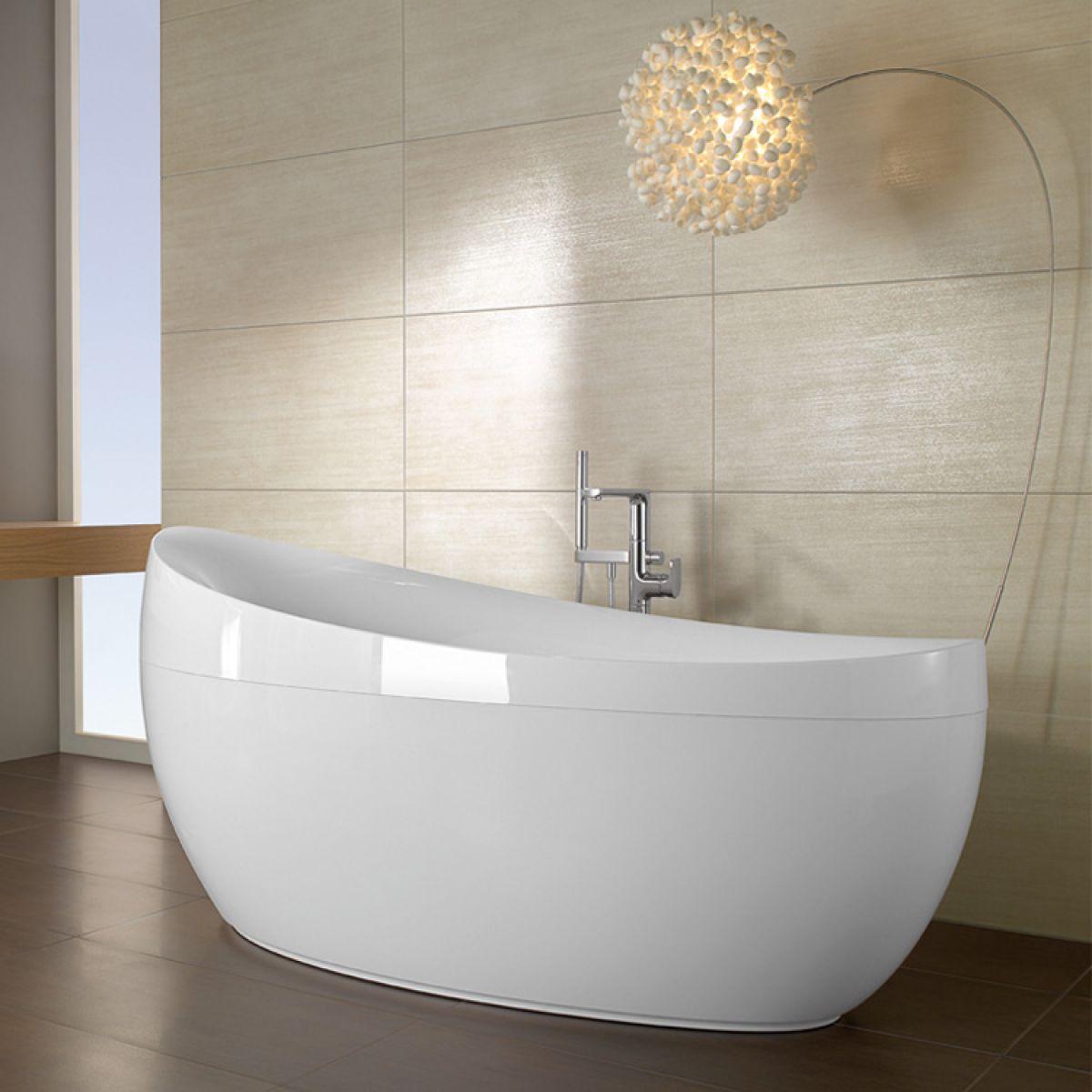 Villeroy & Boch Aveo Freestanding Oval Bath : UK Bathrooms