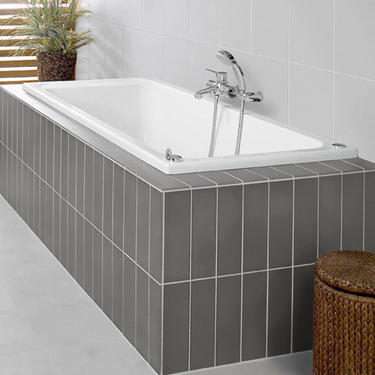 Villeroy & Boch Architectura Solo Rectangular Bath : UK