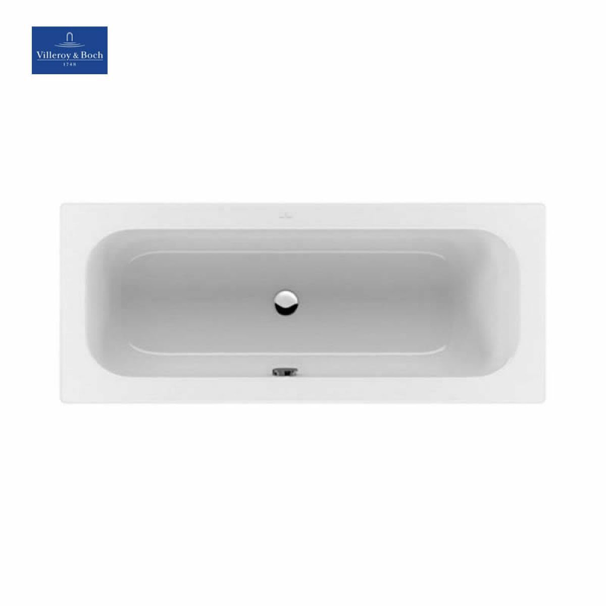 v b loop friends square duo single ended bath uk bathrooms. Black Bedroom Furniture Sets. Home Design Ideas