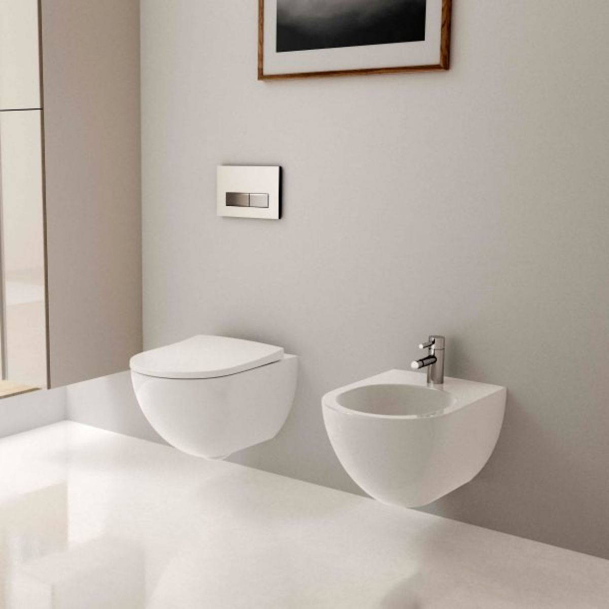 geberit acanto wall hung rimfree washdown toilet uk. Black Bedroom Furniture Sets. Home Design Ideas