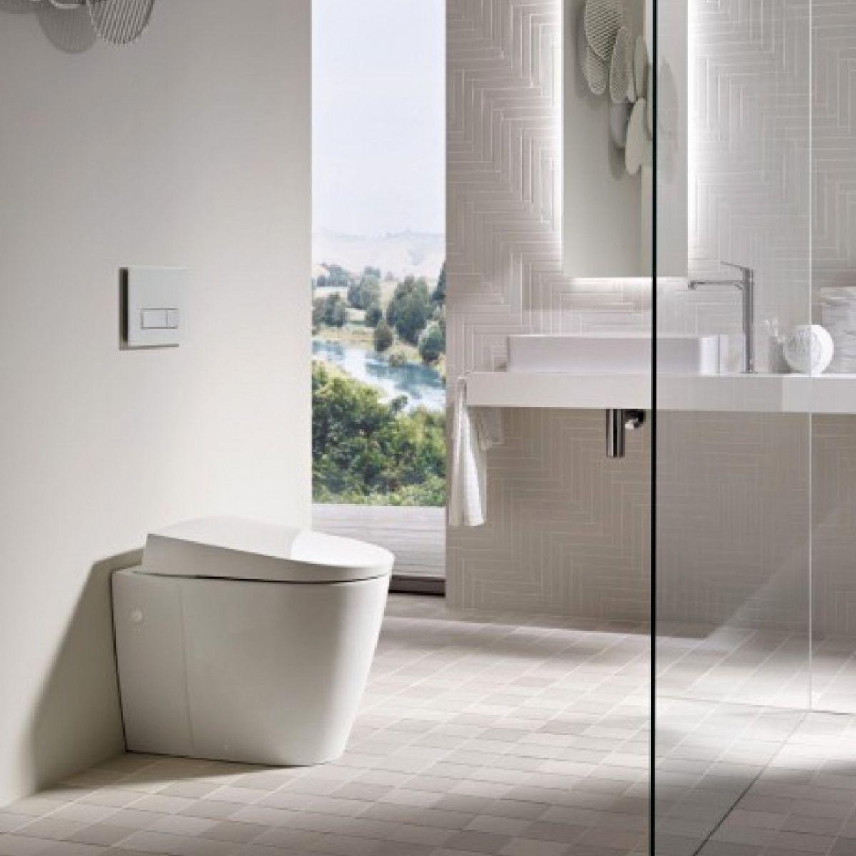 Geberit Aquaclean Sela Floor-standing Shower Toilet : UK Bathrooms
