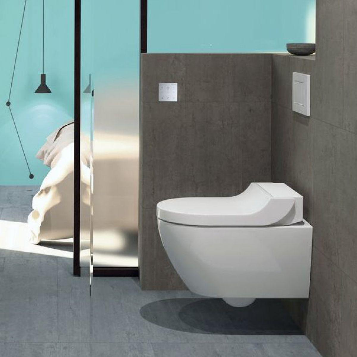 Geberit Aquaclean Tuma Rimless Wall Hung Shower Toilet