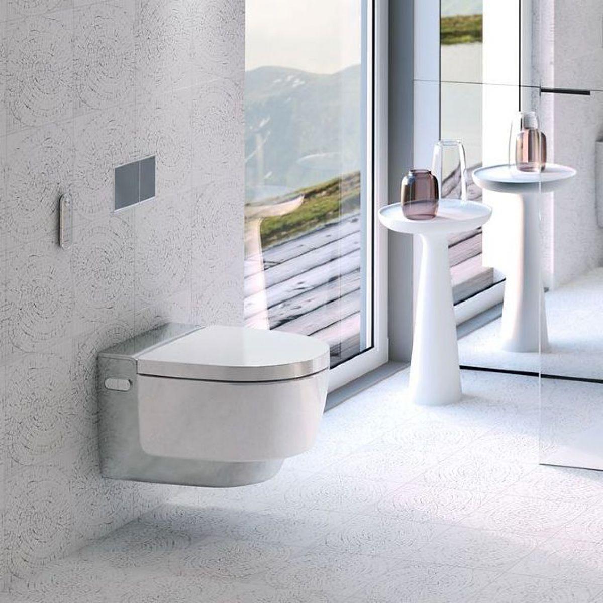 geberit aquaclean mera classic shower toilet uk bathrooms. Black Bedroom Furniture Sets. Home Design Ideas