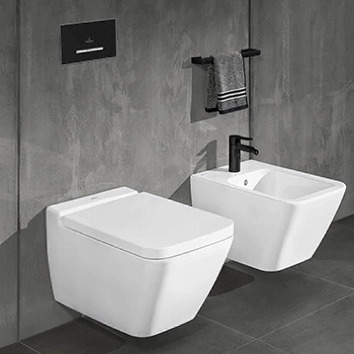 villeroy boch finion wall hung wc uk bathrooms. Black Bedroom Furniture Sets. Home Design Ideas