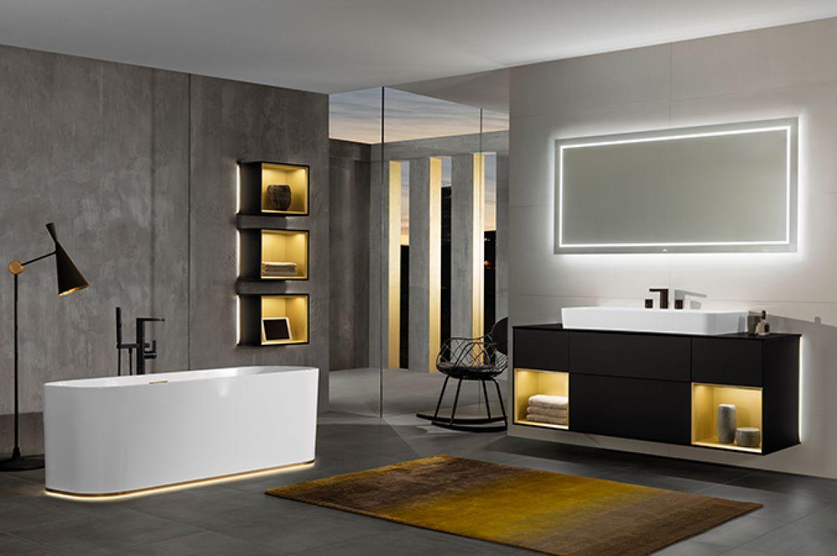 Villeroy boch finion freestanding bath uk bathrooms for Villeroy and boch bathroom accessories