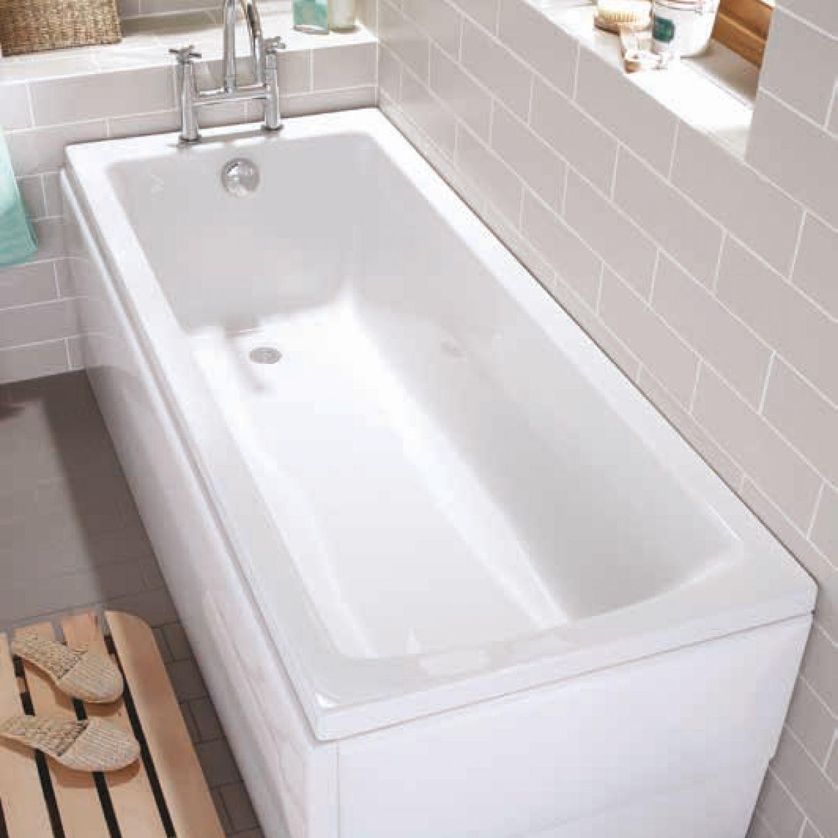 Bath Size Shower Trays Vitra Neon Single Ended Bath Uk Bathrooms