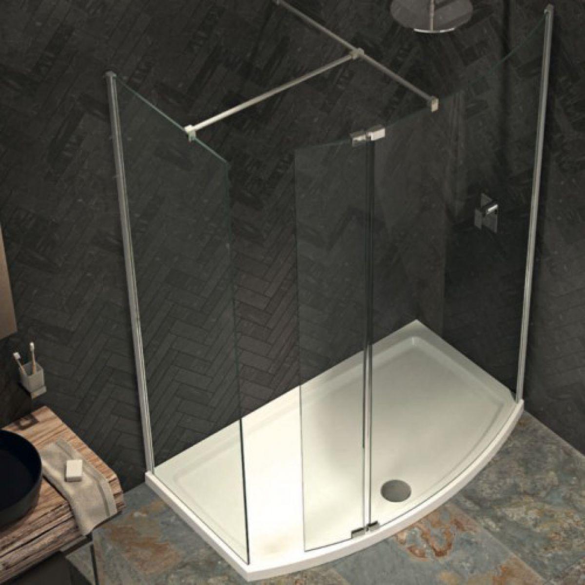 Kudos Ultimate 2 Curved Corner Walk In Pack Uk Bathrooms