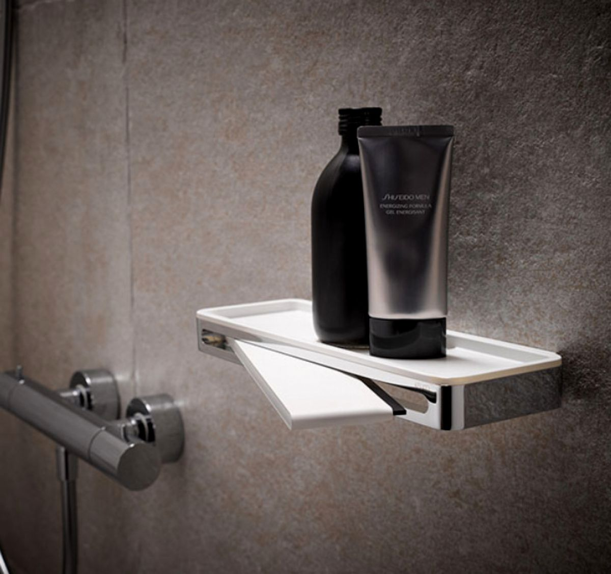 Keuco Plan Shower Basket With Glass Wiper Uk Bathrooms