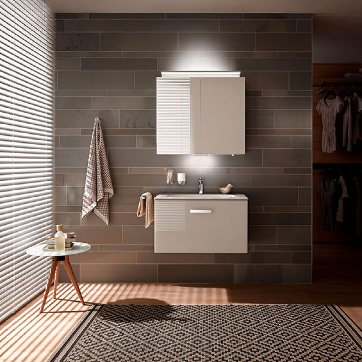 Keuco Royal L1 Double Door Mirror Cabinet : UK Bathrooms