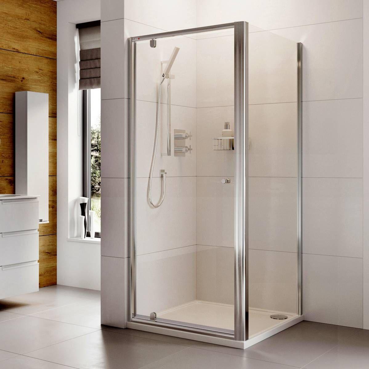 Roman Haven Pivot Shower Door : UK Bathrooms