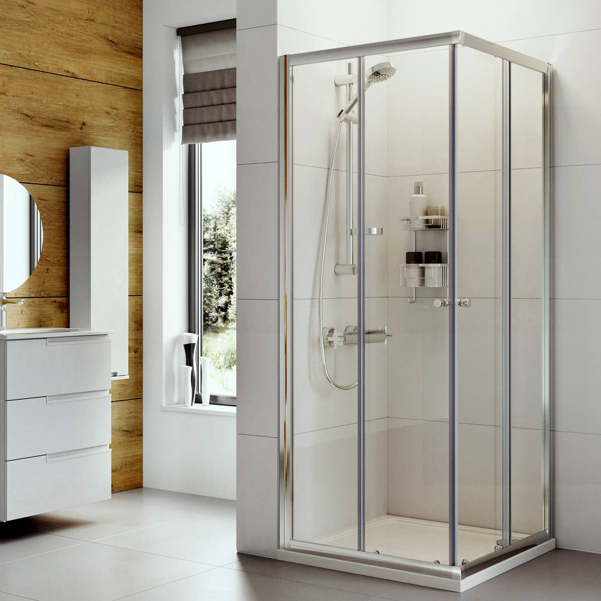 Roman Haven Corner Entry Shower Enclosure Uk Bathrooms