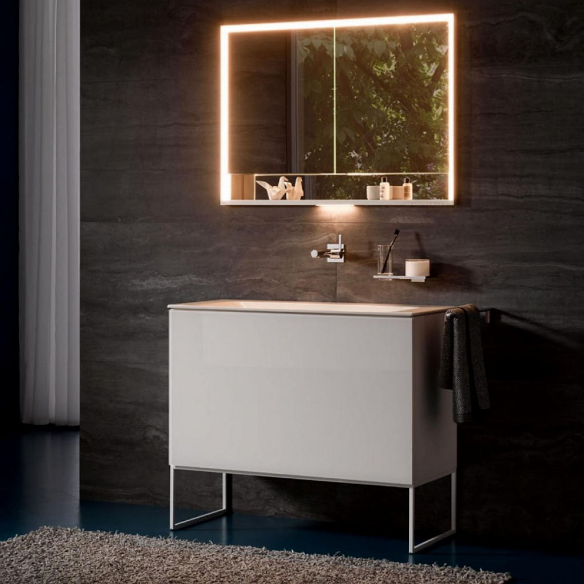 Keuco Plan Deep 2 Drawer Vanity Unit Uk Bathrooms