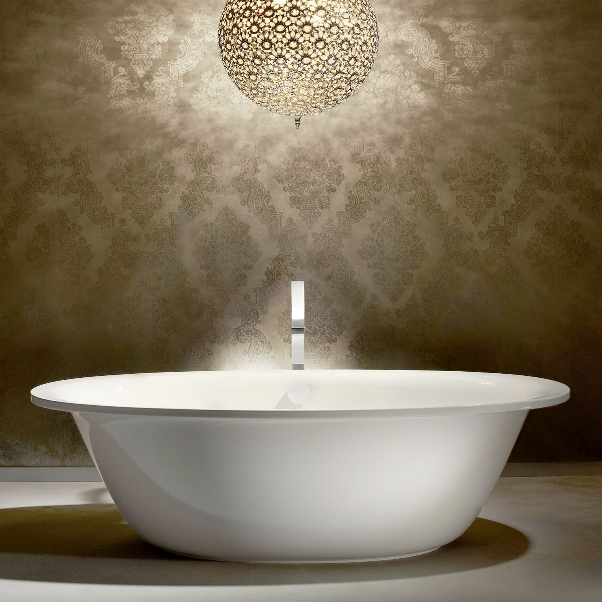 Kaldewei Ellipso Duo Oval Freestanding Steel Bath : UK Bathrooms