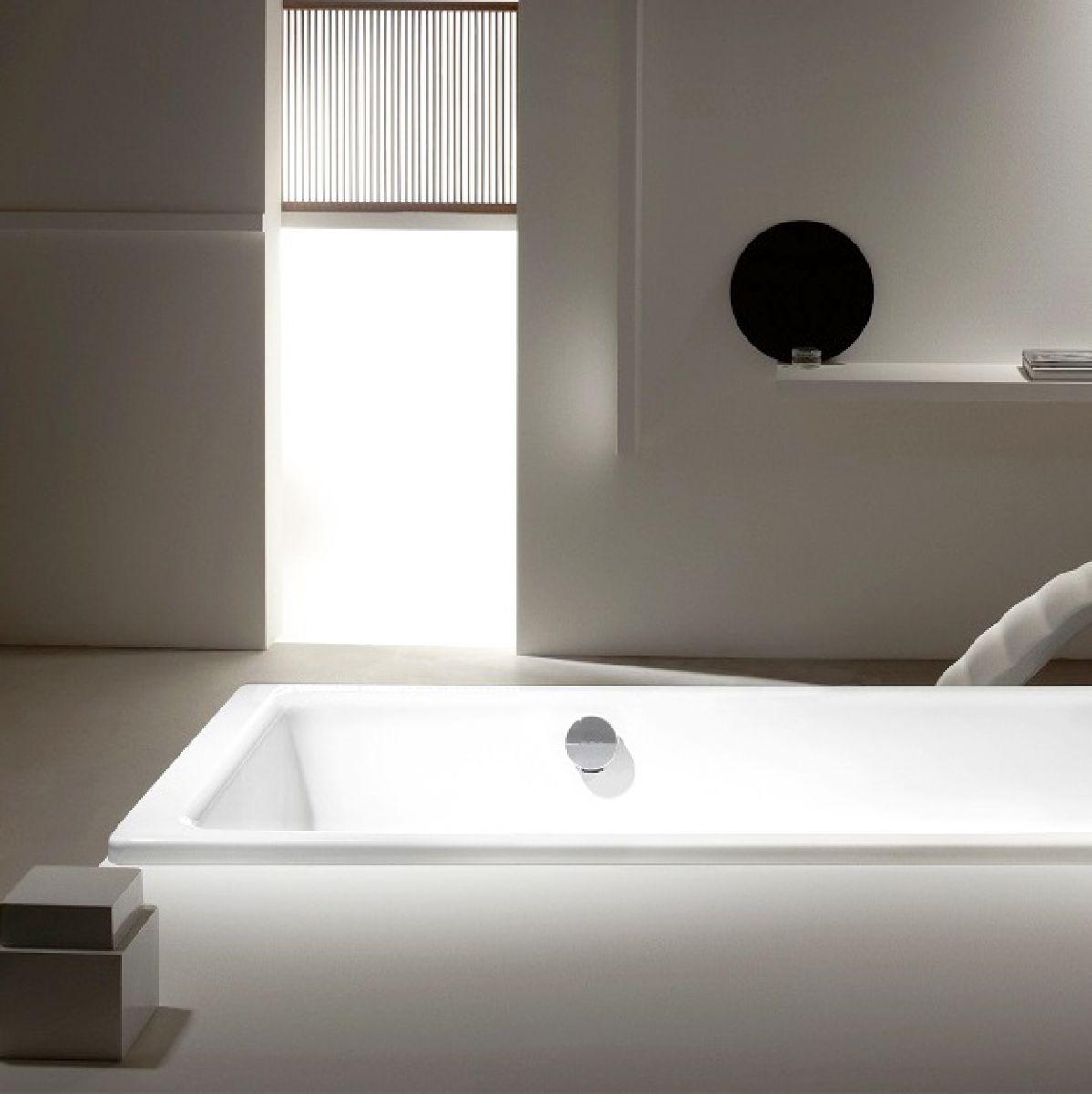 kaldewei puro steel bath with side overflow uk bathrooms. Black Bedroom Furniture Sets. Home Design Ideas