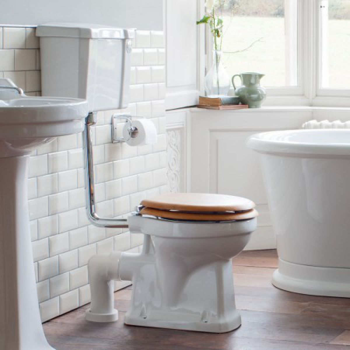 Burlington Slimline Low Level WC (440mm)