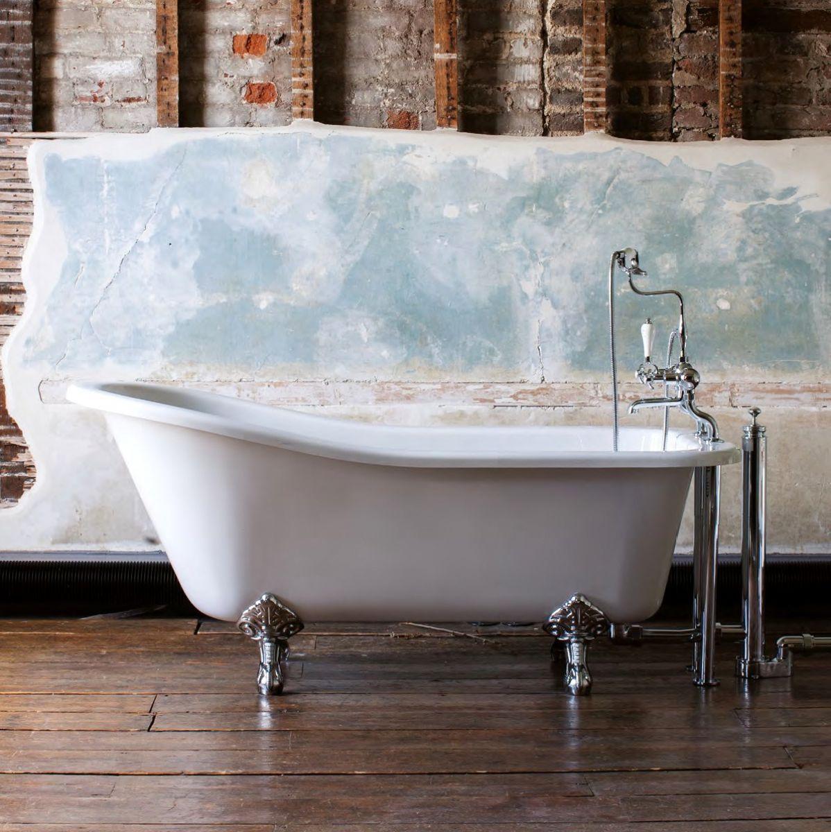 Burlington Harewood 1700mm Slipper Bath : UK Bathrooms