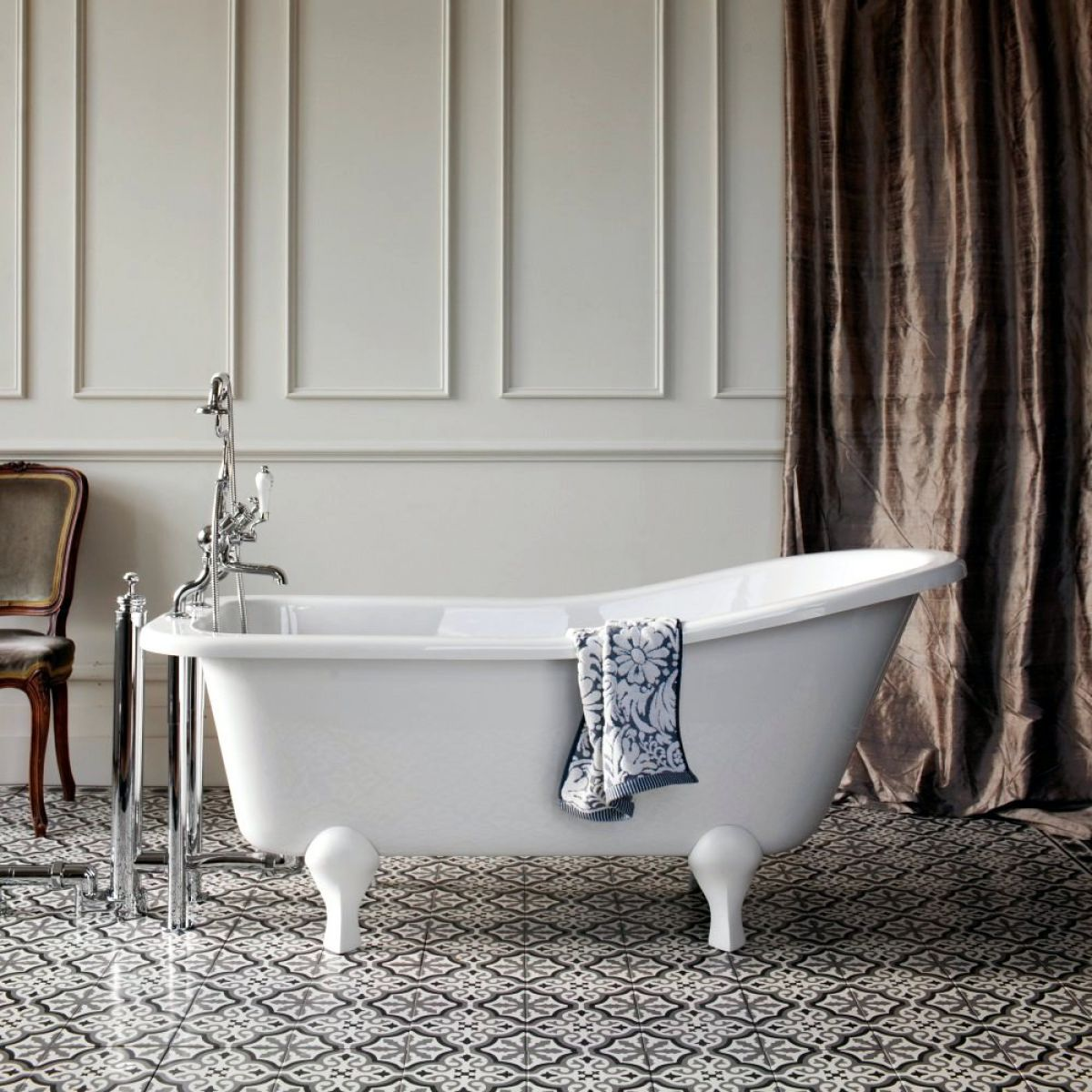 Burlington Buckingham 1500mm Slipper Bath Uk Bathrooms