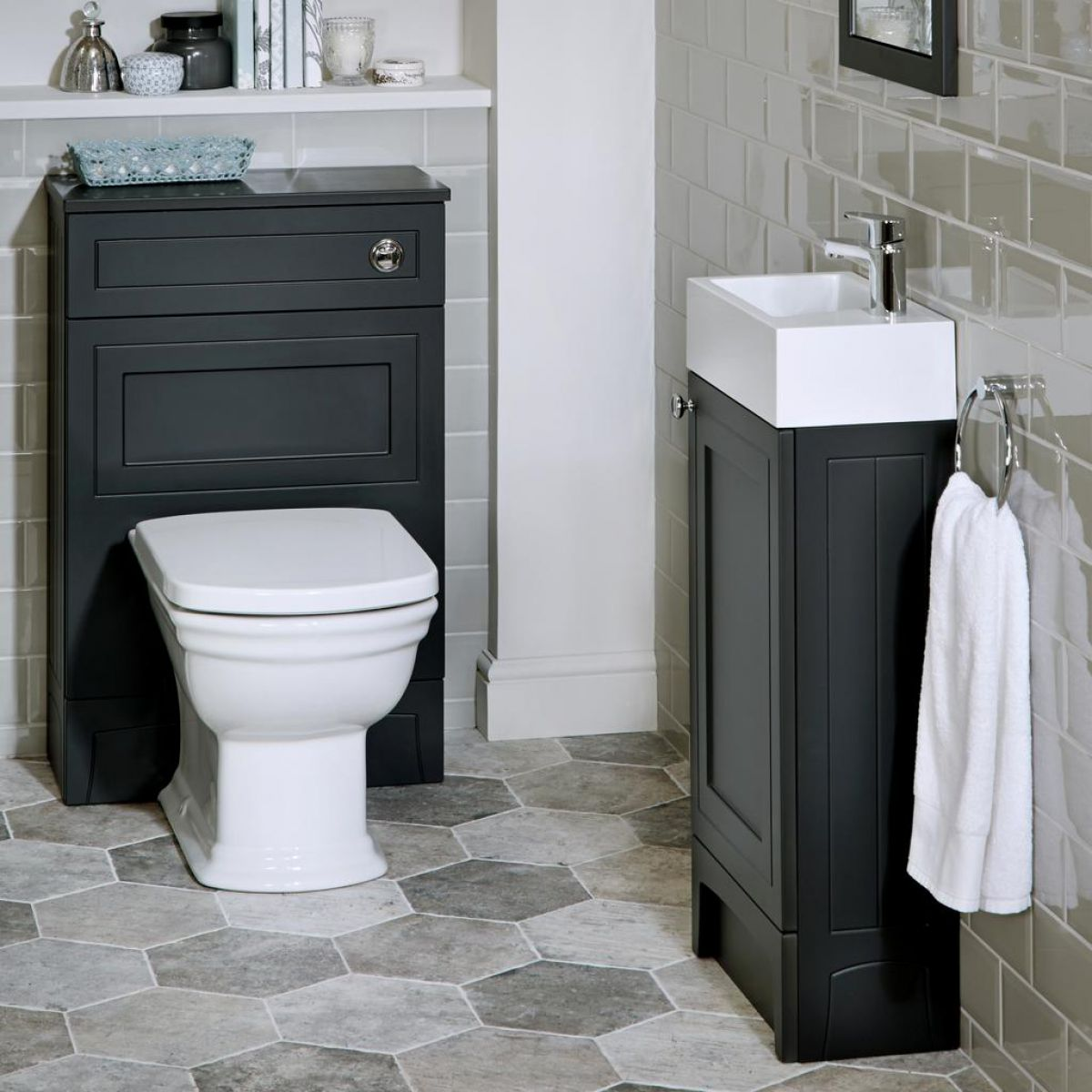 noble classic cloakroom vanity unit uk bathrooms rh ukbathrooms com Bathroom Vanity View Bathroom Vanity with Basin Units