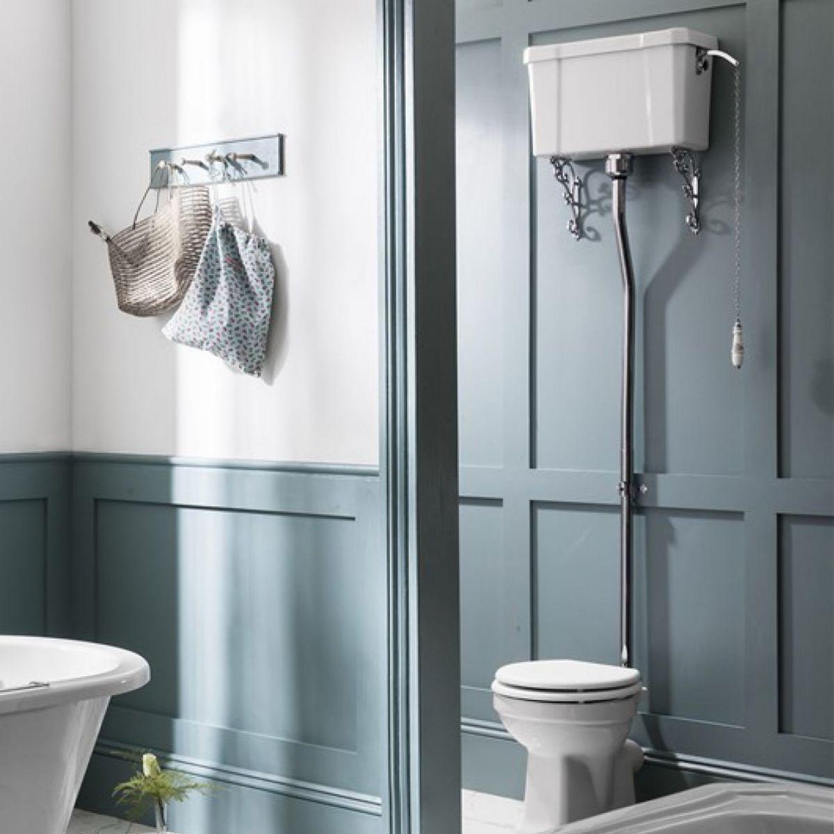 Burlington High Level Toilet Uk Bathrooms