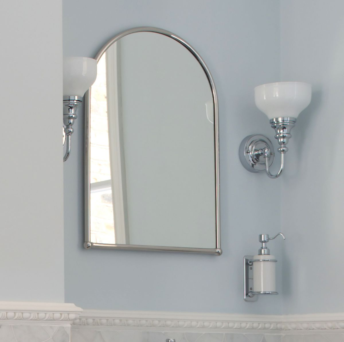 Burlington Arched Framed Mirror Uk Bathrooms