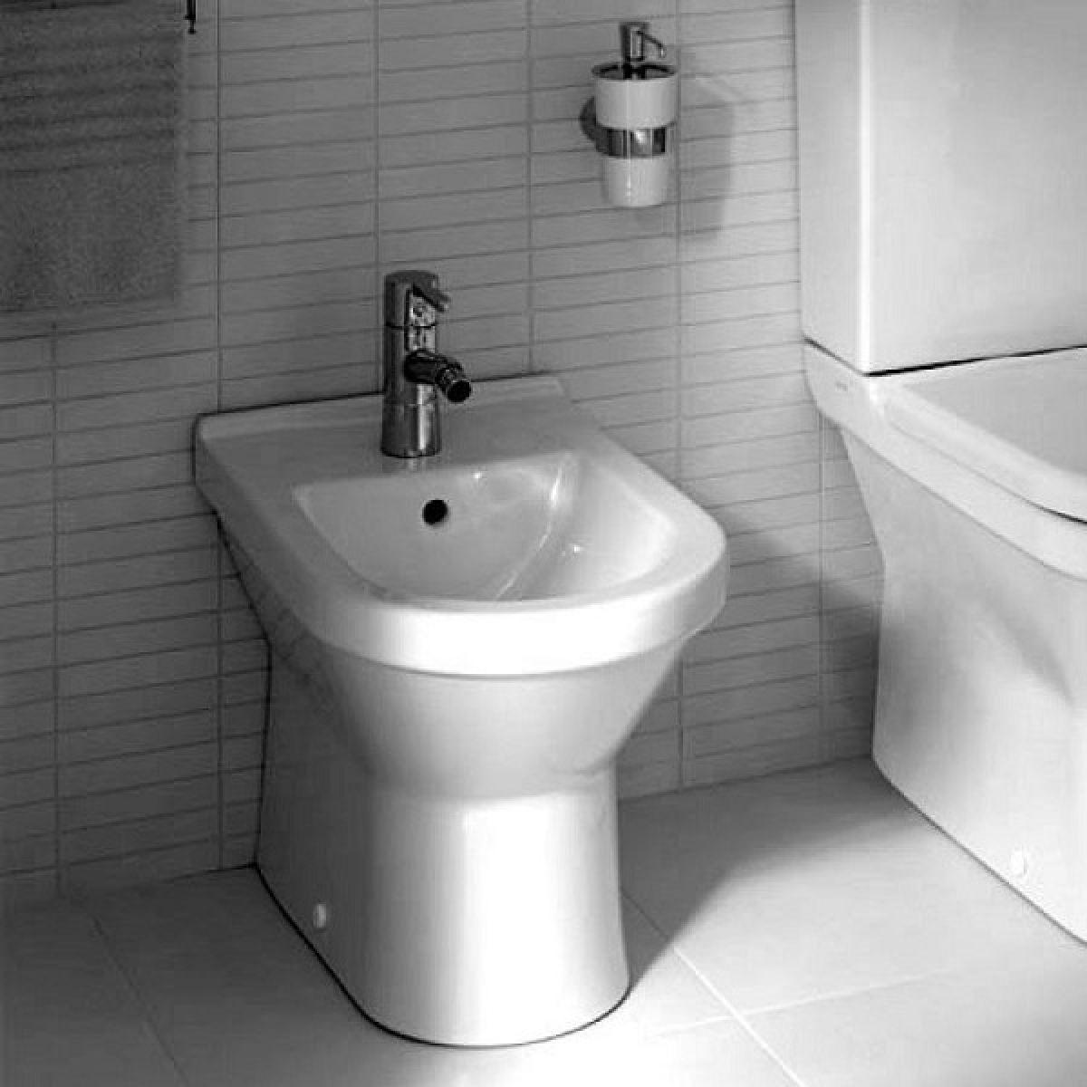 VitrA S50 Back to Wall Bathroom Bidet : UK Bathrooms