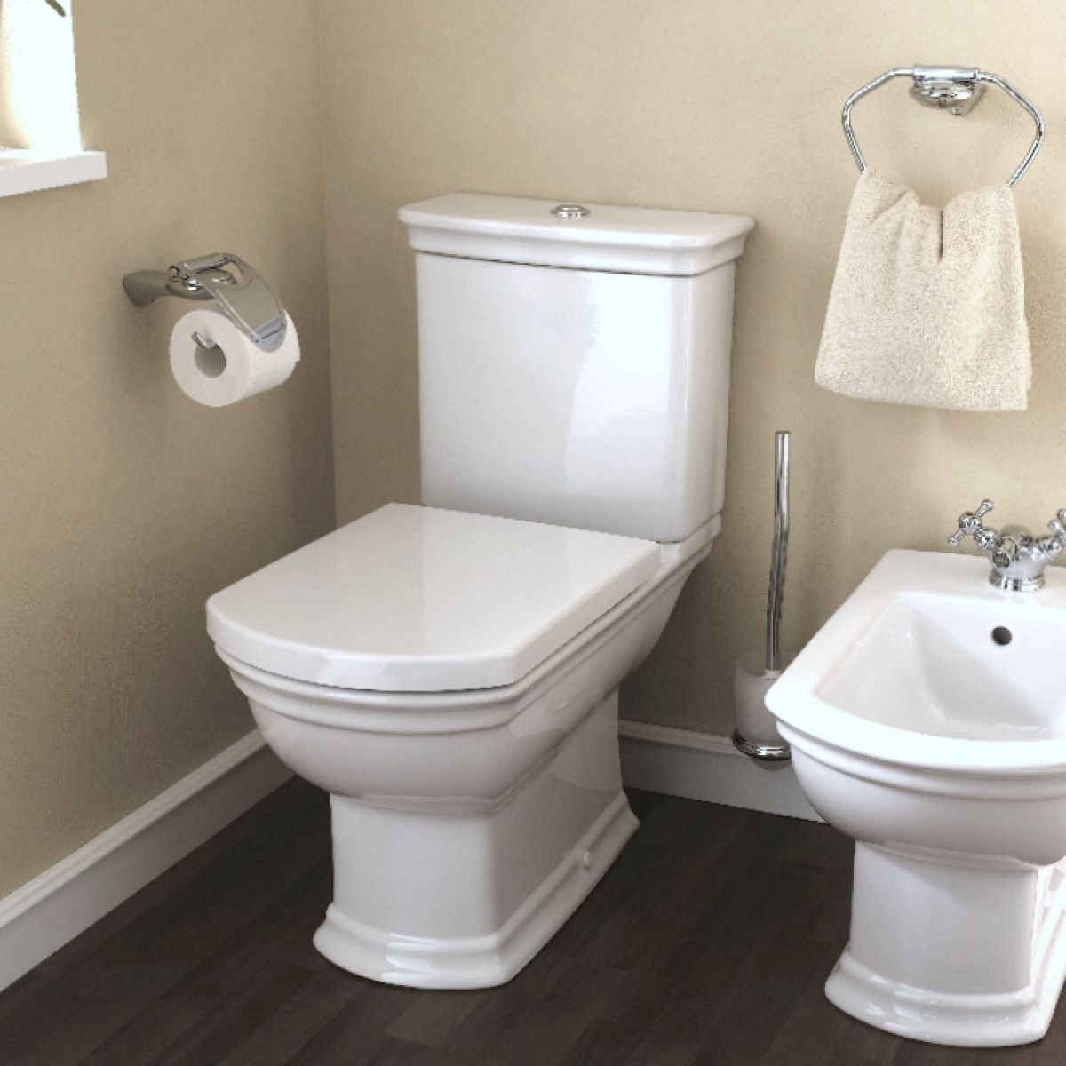 Vitra Serenada Closed Coupled Toilet Uk Bathrooms