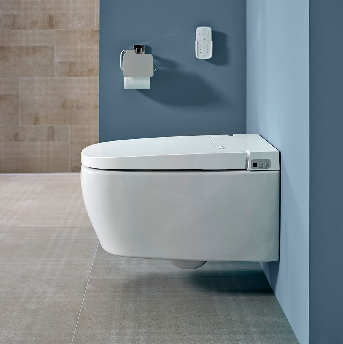 Vitra V Care Essential Intelligent Rimless Toilet : UK Bathrooms