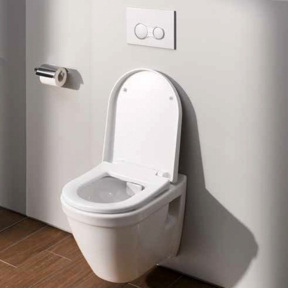 vitra s50 short projection wall hung toilet uk bathrooms. Black Bedroom Furniture Sets. Home Design Ideas